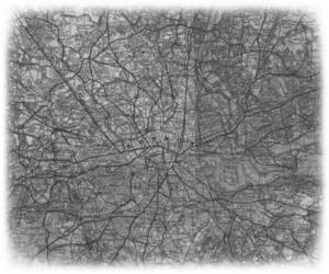 Map of Black London in World War II
